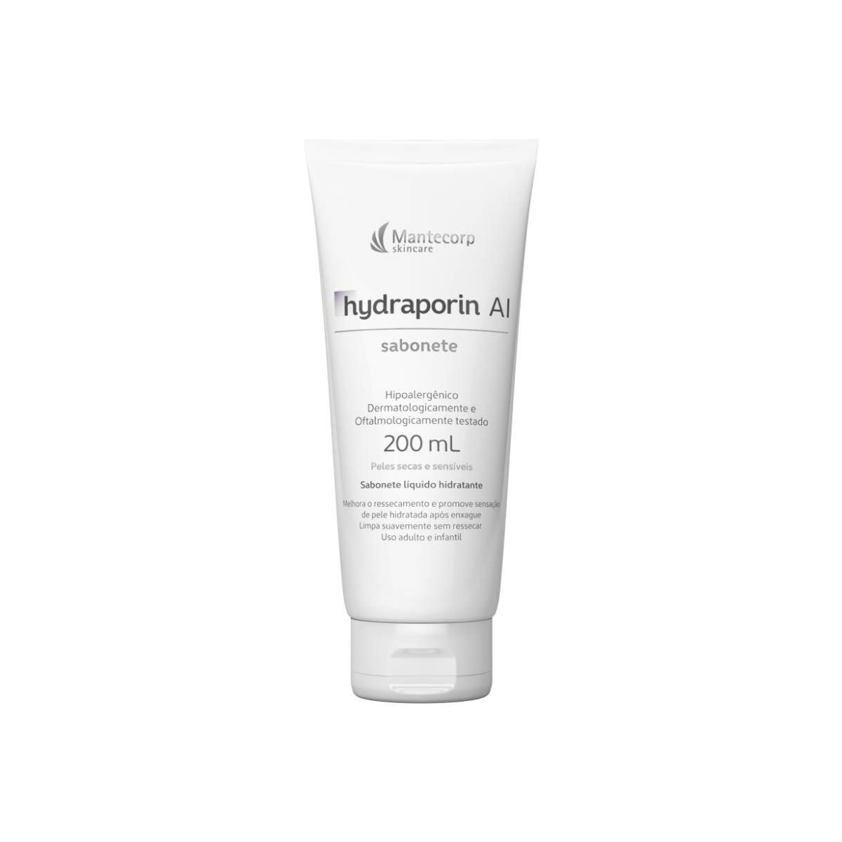 Sabonete Líquido Facial Hydraporin AI Peles Secas e Sensíveis com 200ml 200ml