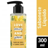 LOVE BEAUTY AND PLANET SABONETE LIQUIDO TROPICAL HYDRATION MAOS E CORPO OLEO DE COCO & YLANG YLANG 300ML