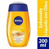 Sabonete Líquido Nivea Natural Oil