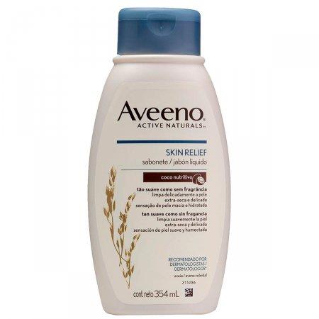 Sabonete Líquido Aveeno Skin Relief Côco