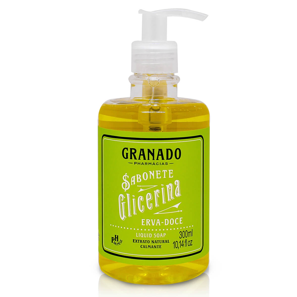 Sabonete Líquido Granado Erva-Doce 300ml
