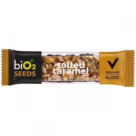 Barra de Sementes Bio2 Salted Caramel
