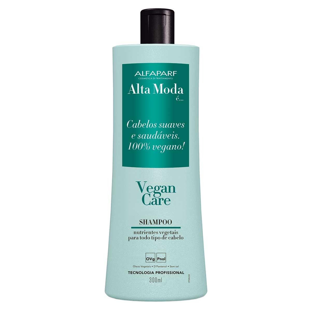 Shampoo Alta Moda Vegan Care com 300ml 300ml