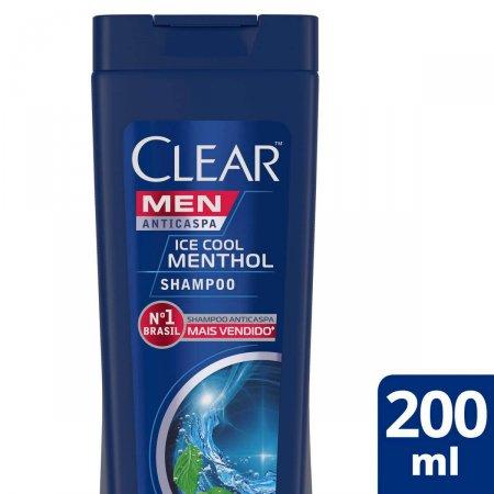 CLEAR MEN SHAMPOO ANTI CASPA ICE COOL MENTOL 200ML