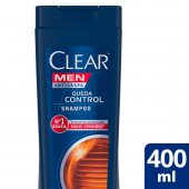 CLEAR MEN SHAMPOO ANTI CASPA QUEDA CONTROL 400ML
