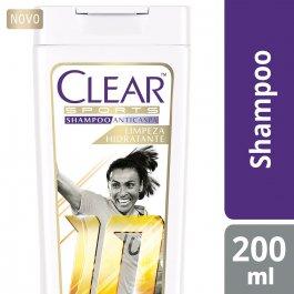 Shampoo Anticaspa Clear Sports Women Limpeza Hidratante