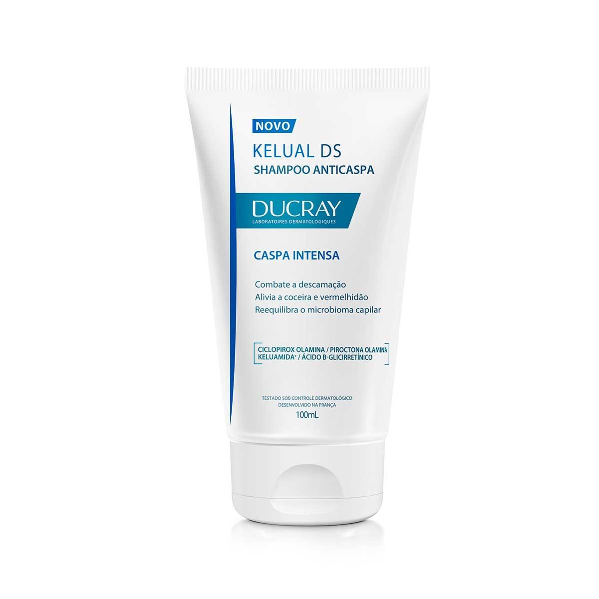 Shampoo Anticaspa Ducray Kelual DS com 100ml 100ml