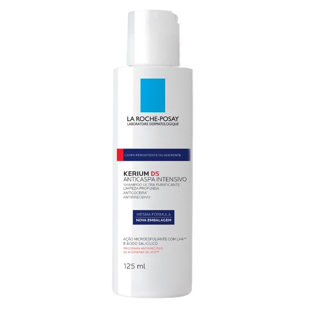 Shampoo Anticaspa La Roche-Posay Intensivo Kerium DS com 125ml 125ml
