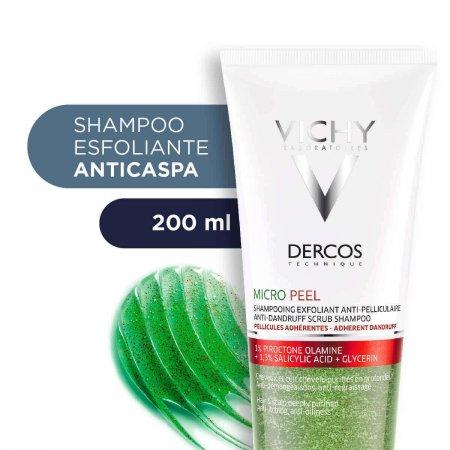 Shampoo Dercos MicroPeel Anticaspa