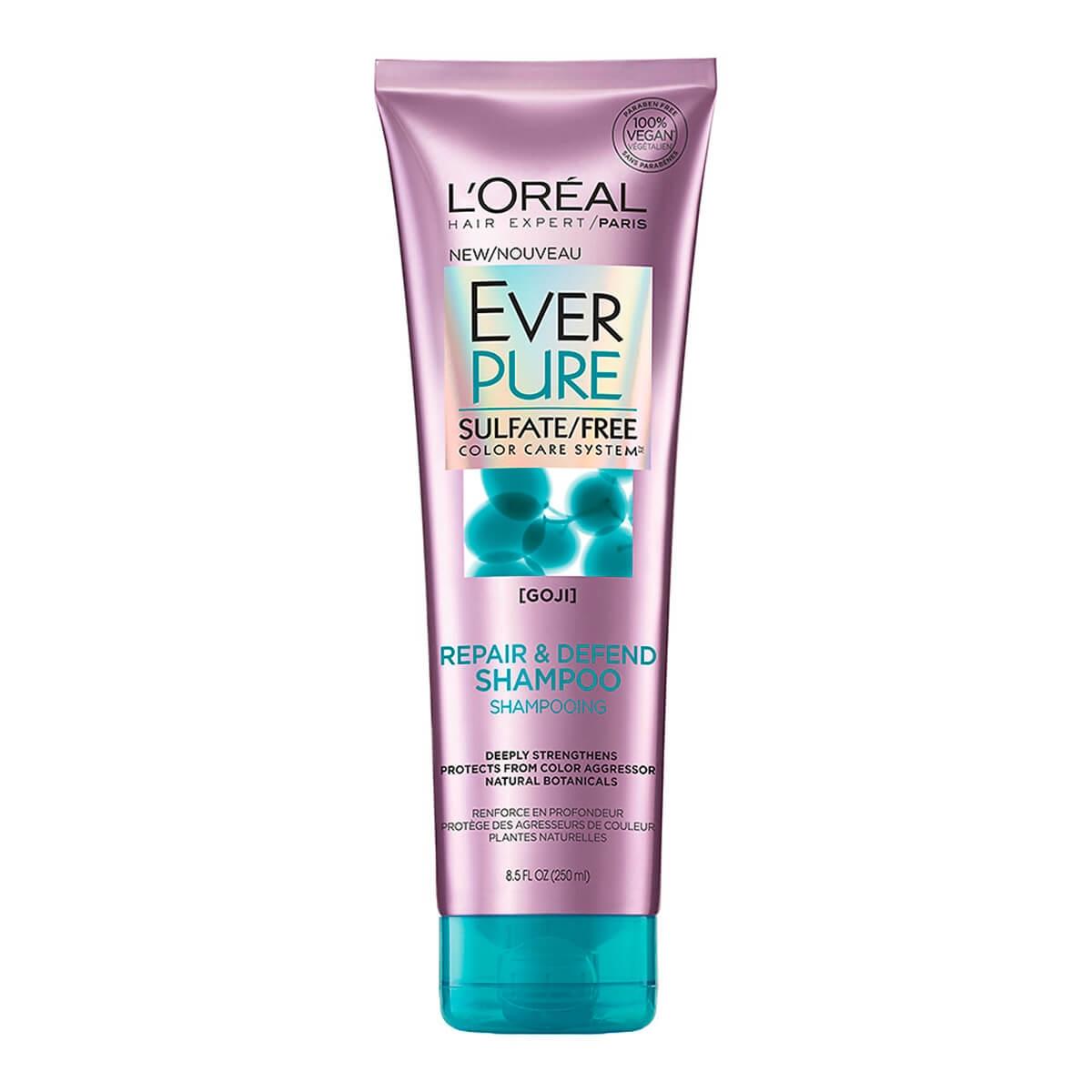 Shampoo L'Oréal Ever Pure Repair e Defend com 250ml 250ml