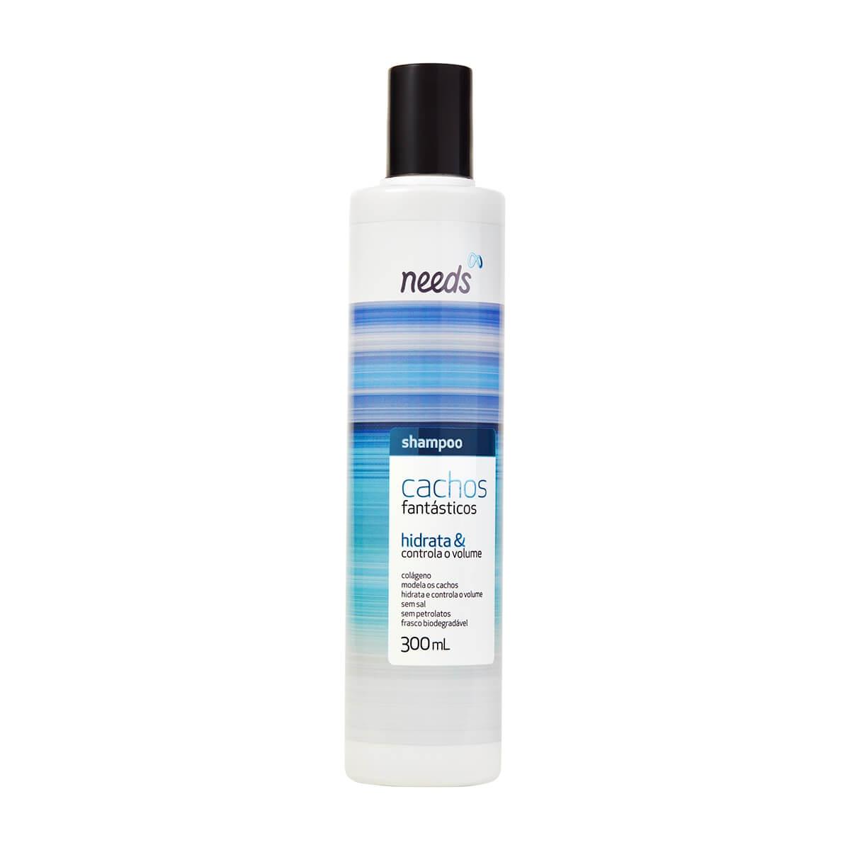 Shampoo Needs Cachos Fantásticos 300ml