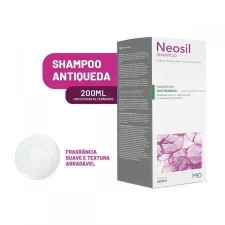 Shampoo Neosil Antiqueda 200ml   Drogasil.com Foto 2