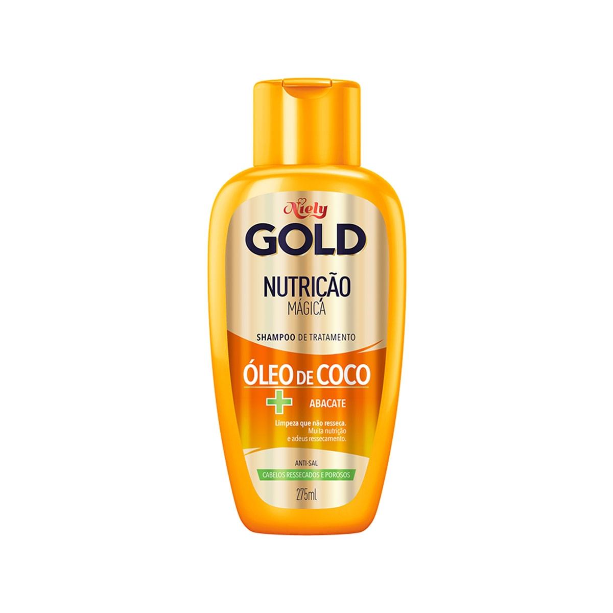 Shampoo Niely Gold Nutrição Mágica com 275ml 275ml