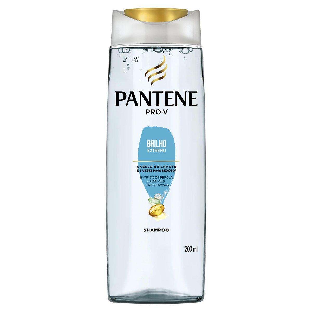 Shampoo Pantene Brilho Extremo com 200ml 200ml