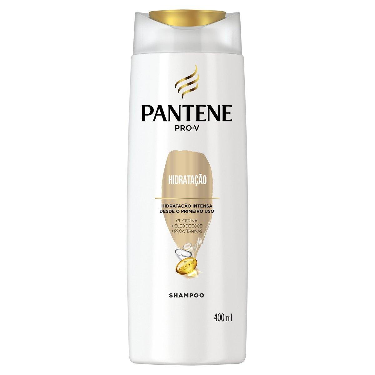 Shampoo Pantene Pro-V Hidratação com 400ml 400ml