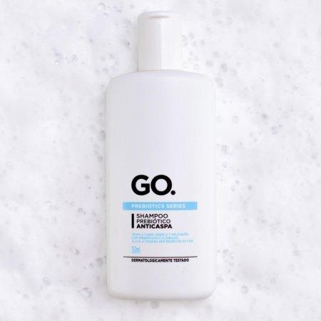 Shampoo Prebiótico GO. Anticaspa 150ml   Drogasil.com Foto 2