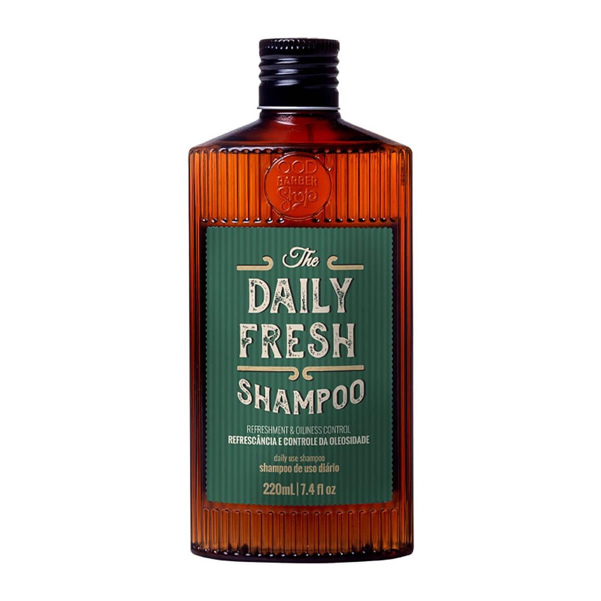 Shampoo QOD Barber Shop The Daily Fresh 220ml