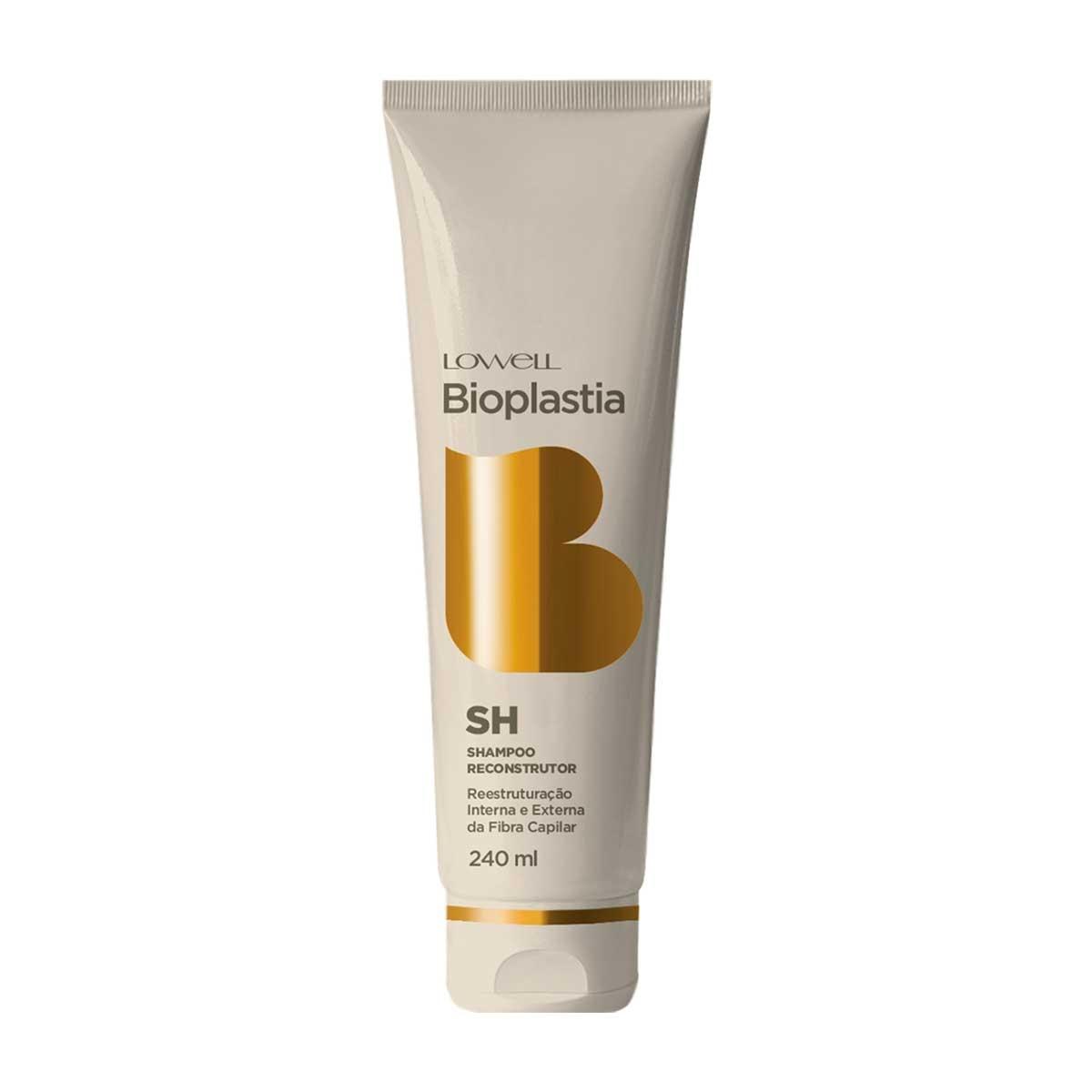 Shampoo Reconstrutor Lowell Bioplastia 240ml 240ml