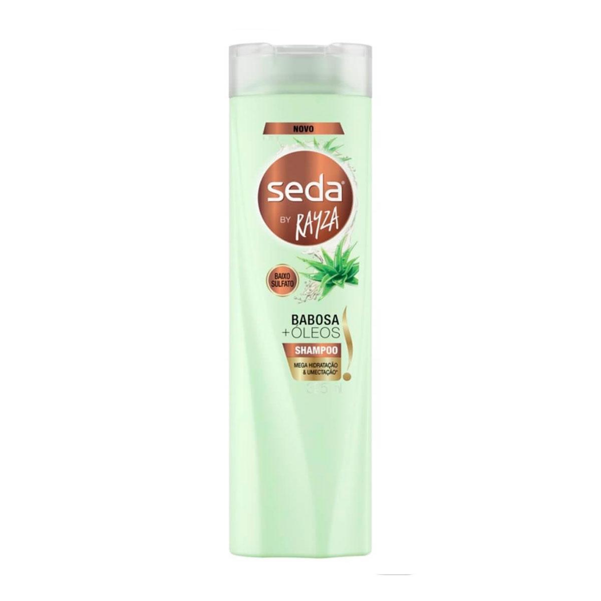 Shampoo Seda by Rayza Babosa + Óleos 325ml