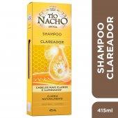 Shampoo Tío Nacho Clareador com 415ml