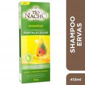 Shampoo Tio Nacho Fortalecedor Ervas Milenares com 415ml