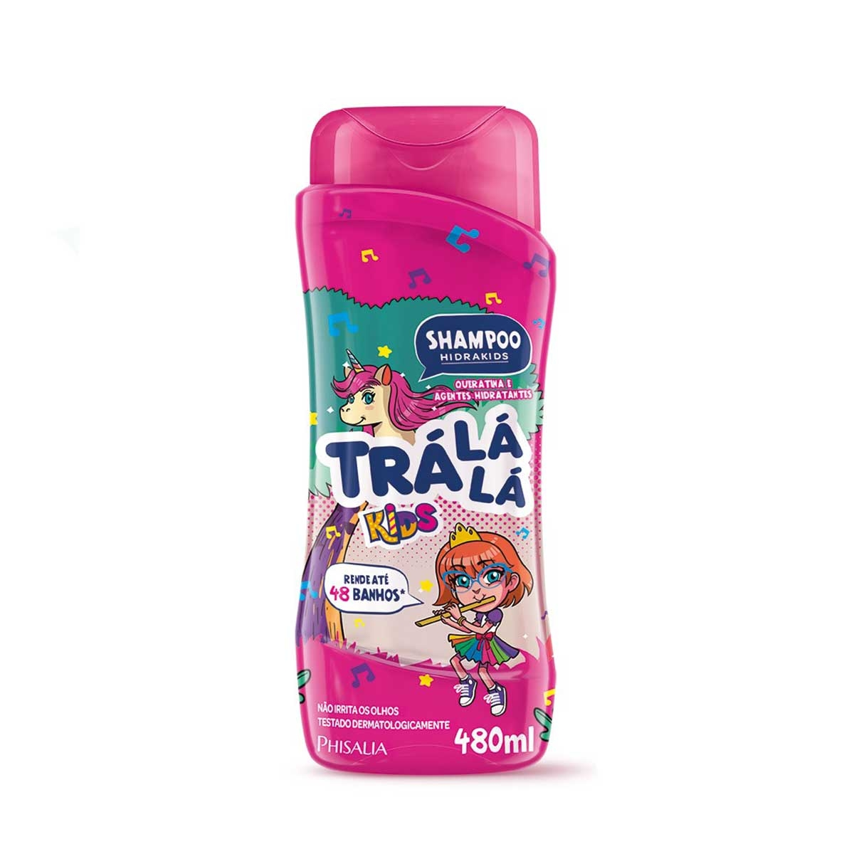 Shampoo Trá Lá Lá Hidrakids com 480ml 480ml