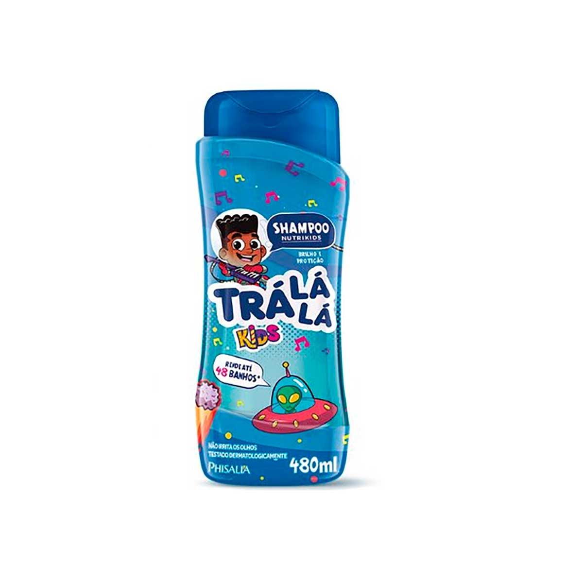 Shampoo Trá Lá Lá Kids Nutrikids com 480ml 480ml