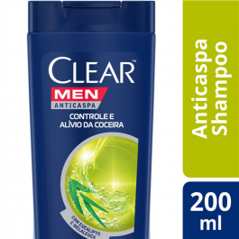 Shampoo Clear Men Anticaspa Alívio da Coceira com 200ml