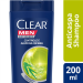 Shampoo Clear Men Anticaspa Controle e Alívio da Coceira 200 ml | Drogasil