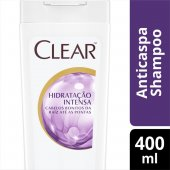 CLEAR WOMEN SHAMPOO ANTI CASPA HIDRATACAO INTENSA 400ML