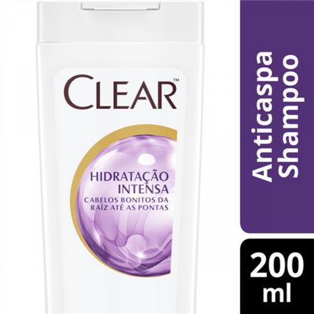 CLEAR WOMEN SHAMPOO ANTI CASPA HIDRATACAO INTENSA 200ML