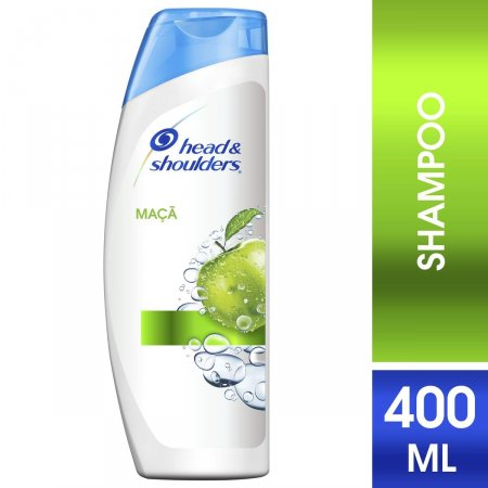Shampoo Head & Shoulders Anticaspa Maçã Verde 400 ml | Drogasil Foto 1