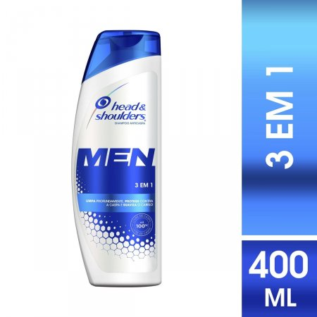 Shampoo de Cuidados com a Raiz Head & Shoulders Men 3 em 1