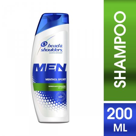 Shampoo de Cuidados com a Raiz Head & Shoulders Men Menthol Sport