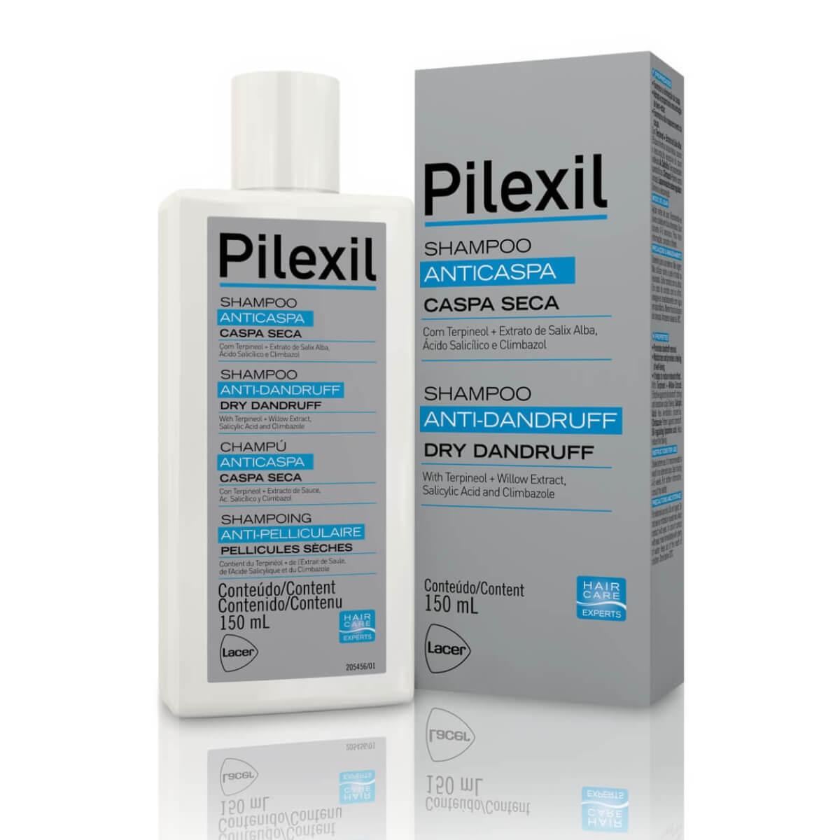Shampoo Anticaspa Pilexil Caspa Seca 150ml