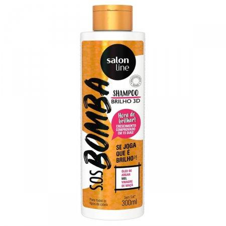 Shampoo Salon Line S.O.S Bomba Brilho 3D