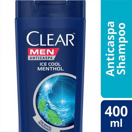Shampoo Anticaspa Clear Men Ice Cool Menthol