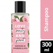 LOVE, BEAUTY AND PLANET SHAMPOO CURLS INTENSIFY MANTEIGA DE MURUMURU & ROSA FRASCO 300ML