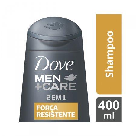 DOVE MEN SHAMPOO 2X1 FORCA RESISTENTE  400ML