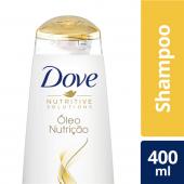 DOVE SHAMPOO  OLEO NUTRICAO 400 ML