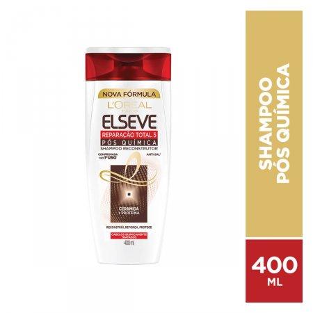 ELSEVE SHAMPOO REPARACAO TOTAL 5 POS QUIMICA 400 ML