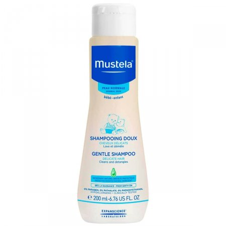 Shampoo Mustela Bebê 200ml   Drogasil.com Foto 1