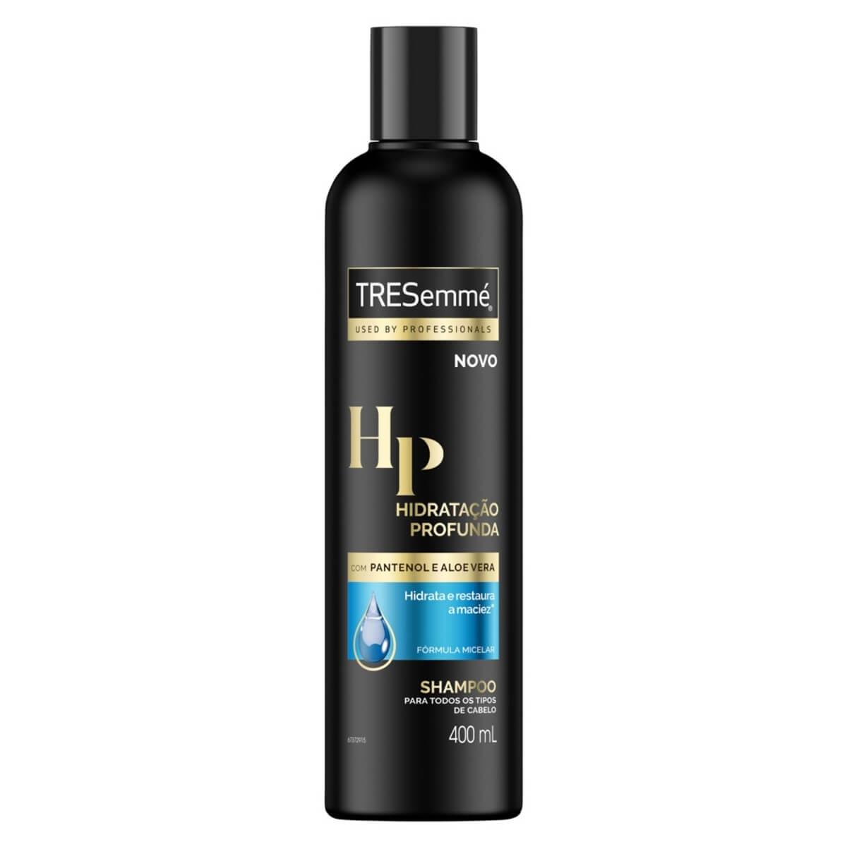 Shampoo TRESemmé Hidratação Profunda com 400ml 400ml
