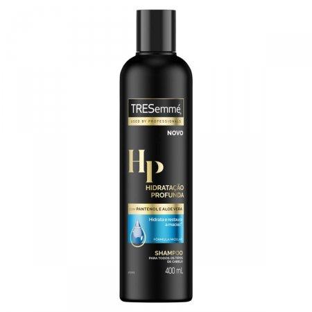 Shampoo TRESemmé Hidratação Profunda 400mL   Drogasil.com Foto 1