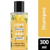 LOVE, BEAUTY AND PLANET SHAMPOO HOPE AND REPAIR OLEO DE COCO & YLANG YLANG FRASCO 300ML