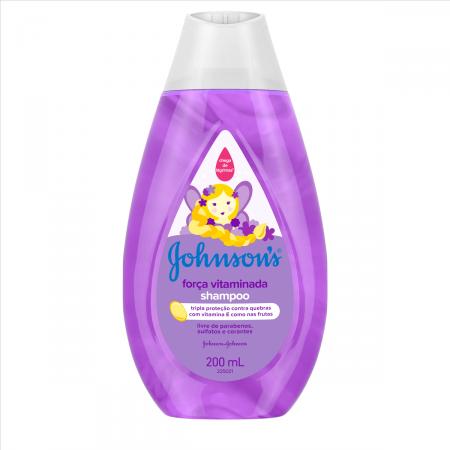 Shampoo Infantil Johnson's Força Vitaminada