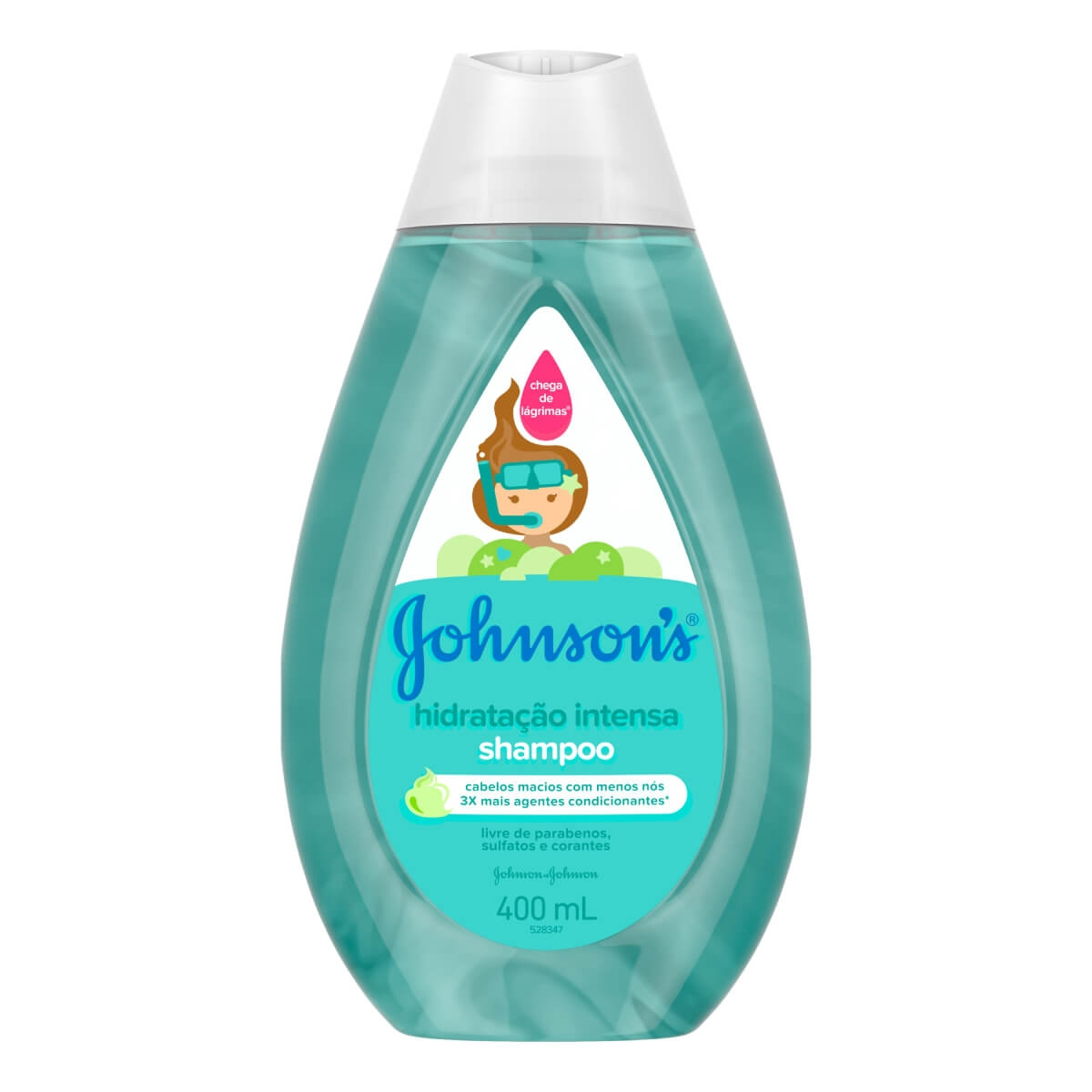 Shampoo Johnson's Hidratação Intensa 400ml