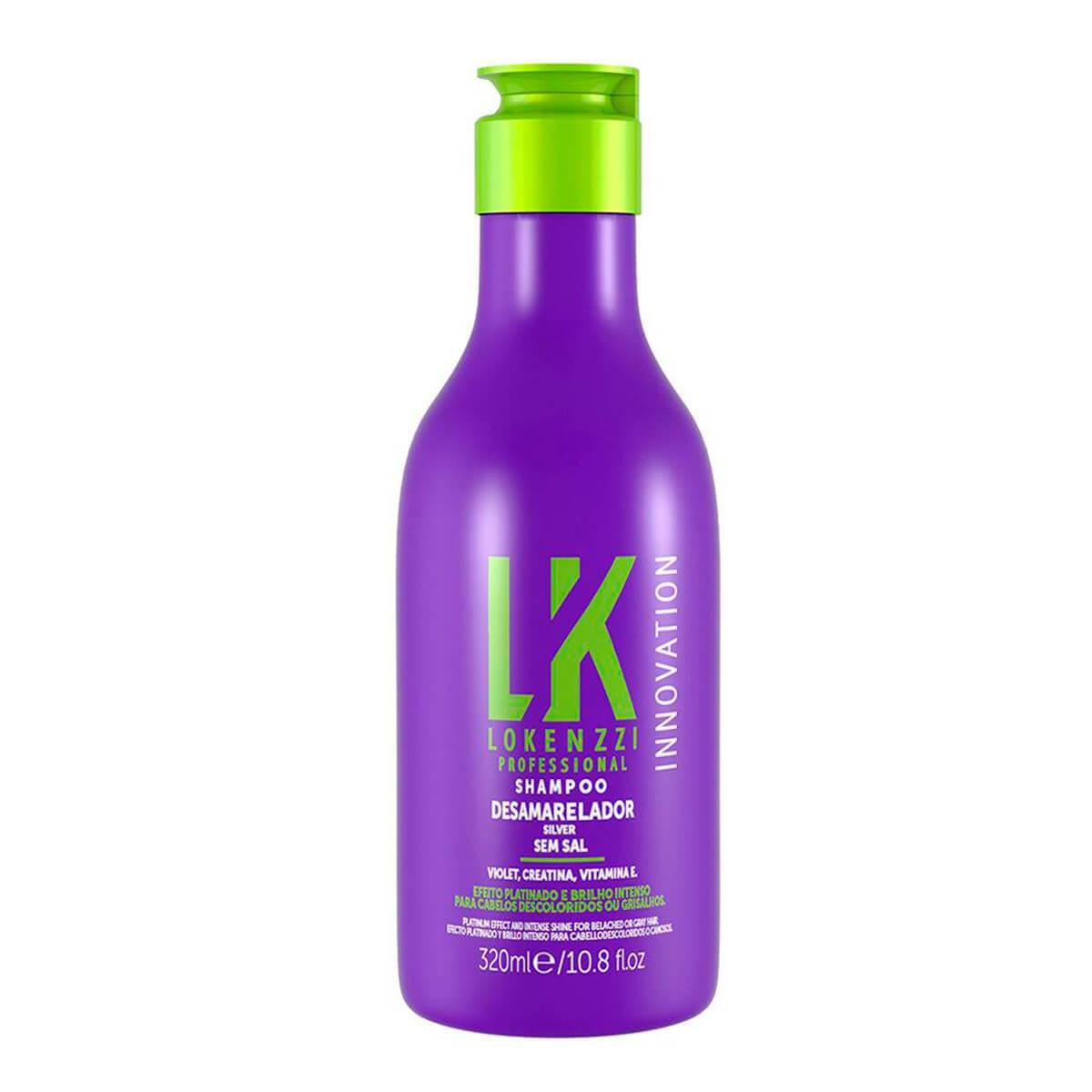 Shampoo Lokenzzi Desamarelador 320ml