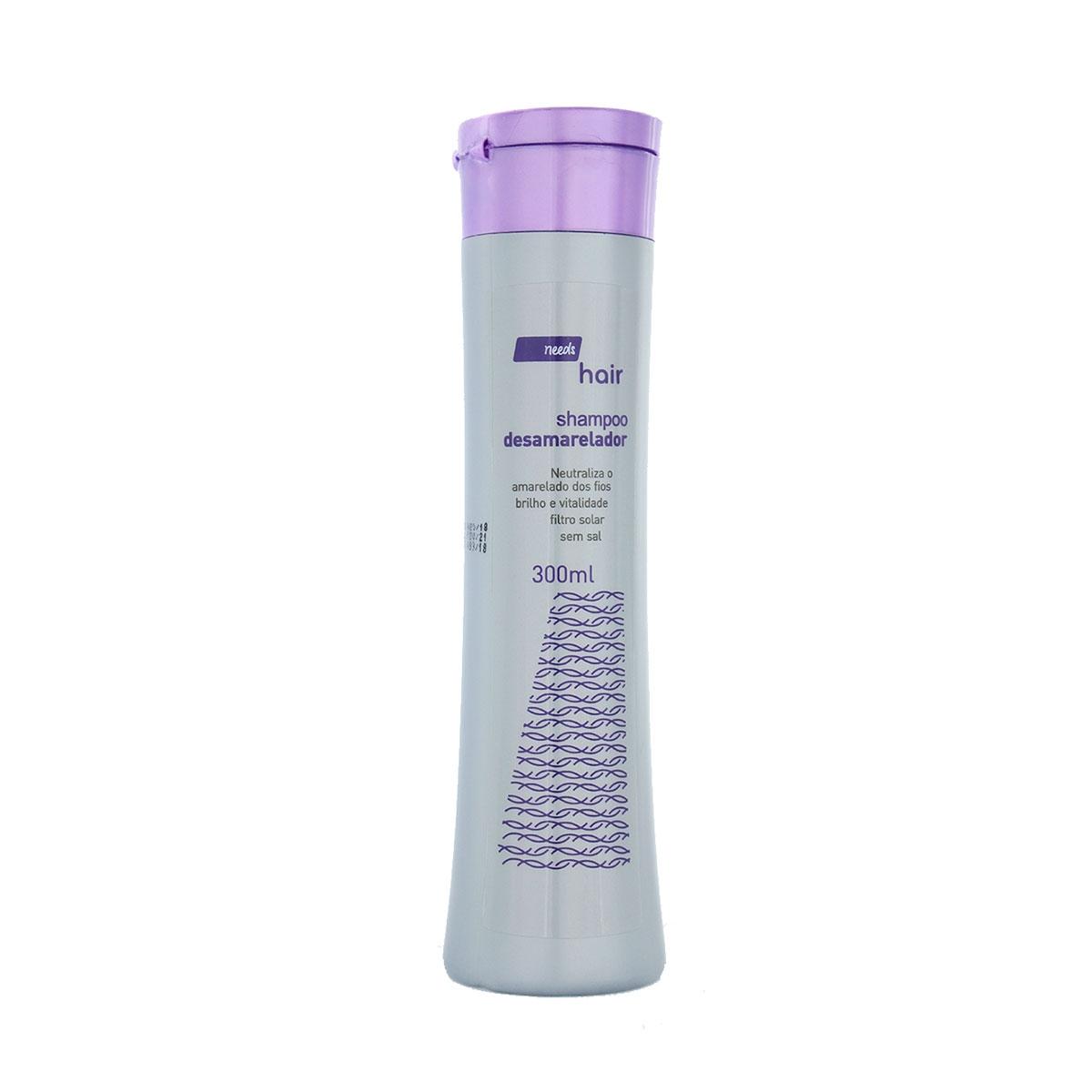 Shampoo Desamarelador Needs Hair com 300ml 300ml