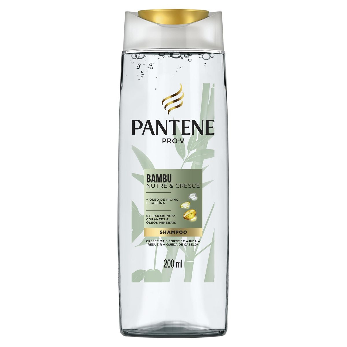 Shampoo Pantene Pro-V Bambu com 200ml 200ml